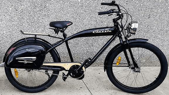 Phantom Santa Fe Classic e-bike 1