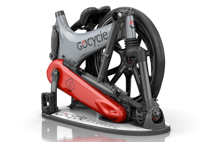 Gocycle GS folded