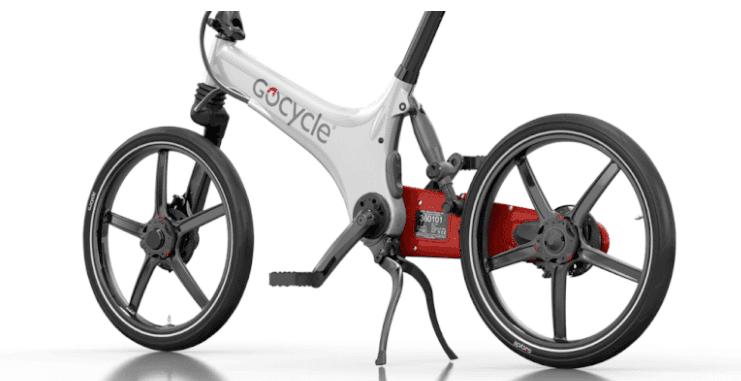 Gocycle GS kickstand