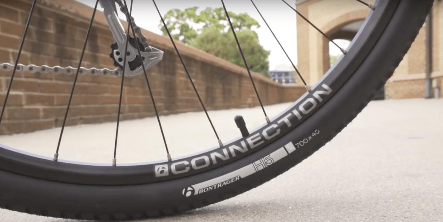 Trek Verve+ H5 tires
