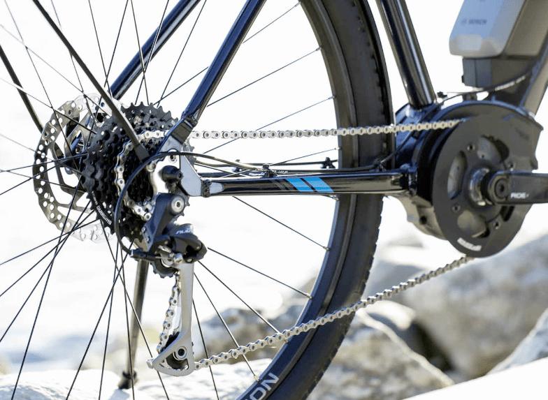 Trek Verve+ mid-motor and shifting system