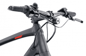 Trek Super Commuter +9 - Handlebar, front light and ergo grips
