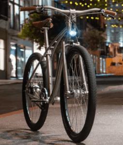 Model E lightweight electric bike - Front light