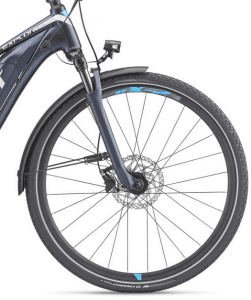 Front light Tire and Hydraulic 180 mm disc brake for Giant Explore E plus 2