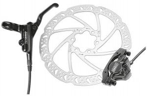 Hydraulic brakes for high-end commuter electric bikes