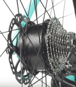 Hub drive M1 motor