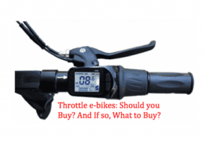 Electric bike without pedal assist, is it worth it?