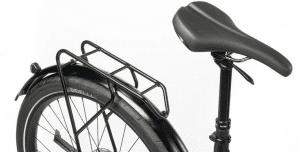 Aluminum rack and telescopic saddle Ducati e bike Scrambler