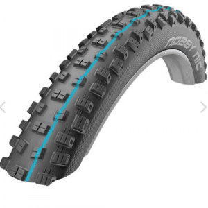 Schwalbe Nobby NIc Tires 27 and 29 inch hybrid ebike