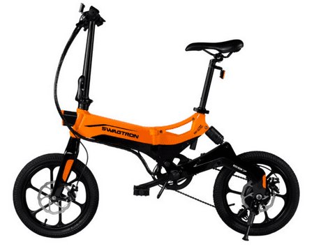 Swagtron EB7 Plus Budget foldable Electric Bike Review