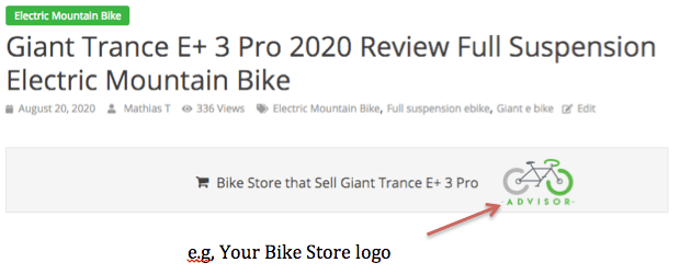 Bike Store promoted top ebike reviews
