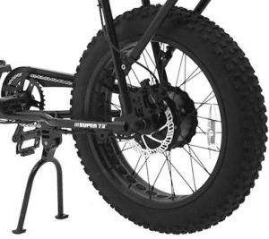 Rear Hub brushless Gear motor 500w