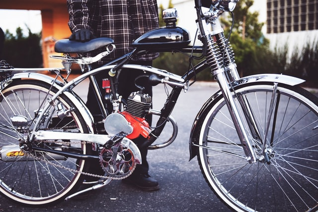 Electric bikes for commuting and fun to work or home by Tim Mossholder