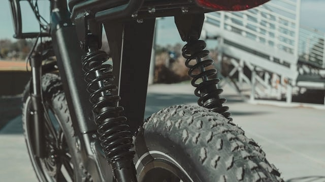 Electric Bike Suspension overview Photo by Himiway Bikes