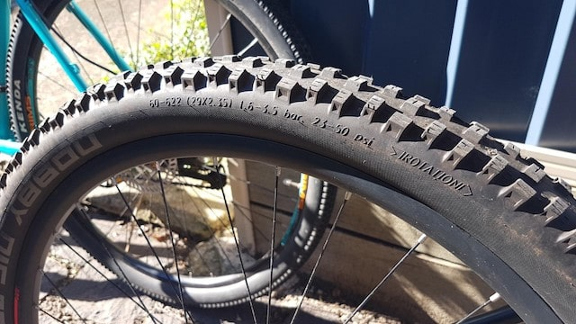 Electric bike tire manufacturer specifications