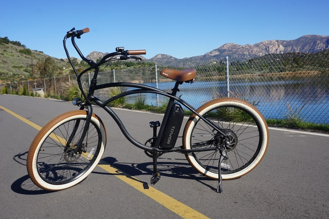 ebike with aluminum frame - photo by Tower Electric Bikes