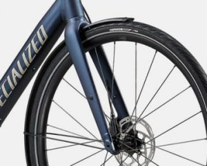 Front fork aerodinamic design for wing resistance reduction